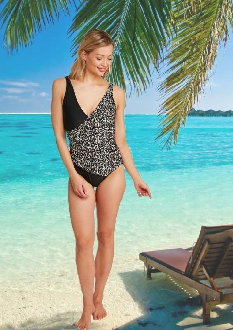 Oyster Bay - Swimsuit Animal Print